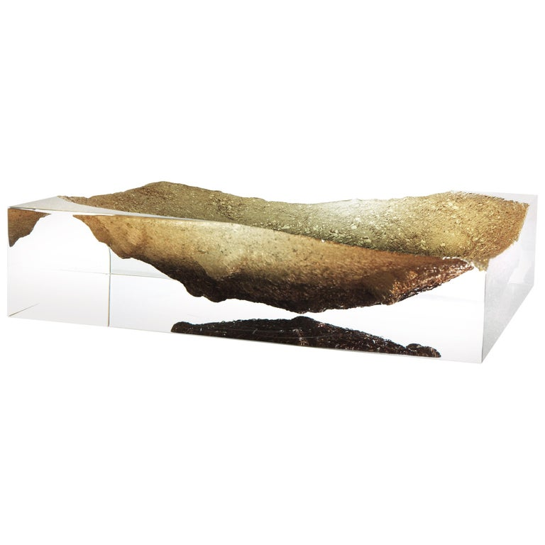 For Sale: Yellow (Ochre) Jumbo Group/JCP Universe Glacoja Centerpiece by Analogia Project