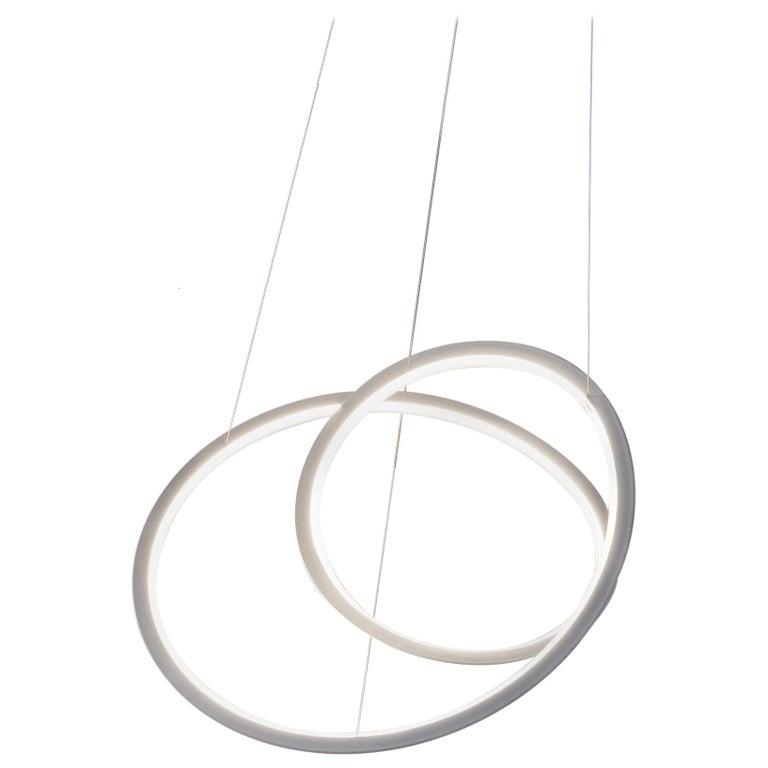 For Sale: White (White ) Nemo Kepler Uplight LED 3000K Dimmable Pendant Lamp by Arihiro Miyake