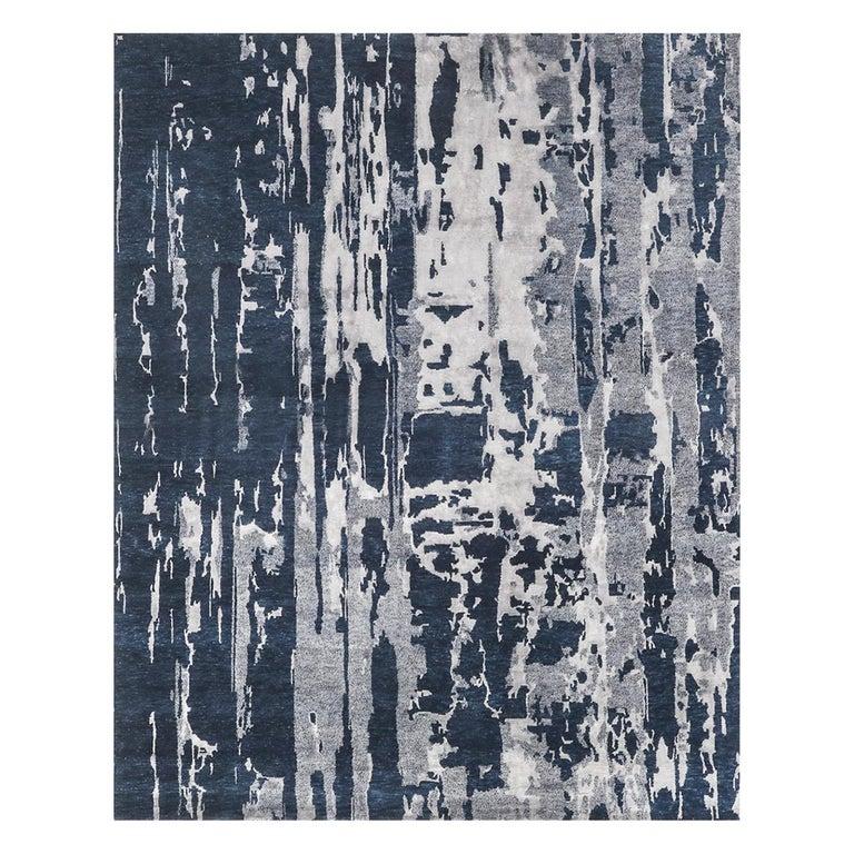 For Sale: Blue (Reve Navy) Ben Soleimani Reve Rug 8'x10'