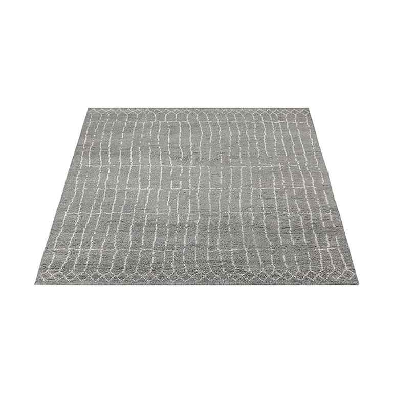 For Sale: Gray (Plaga Grey/Sand) Ben Soleimani Plaga Rug 8'x10' 4