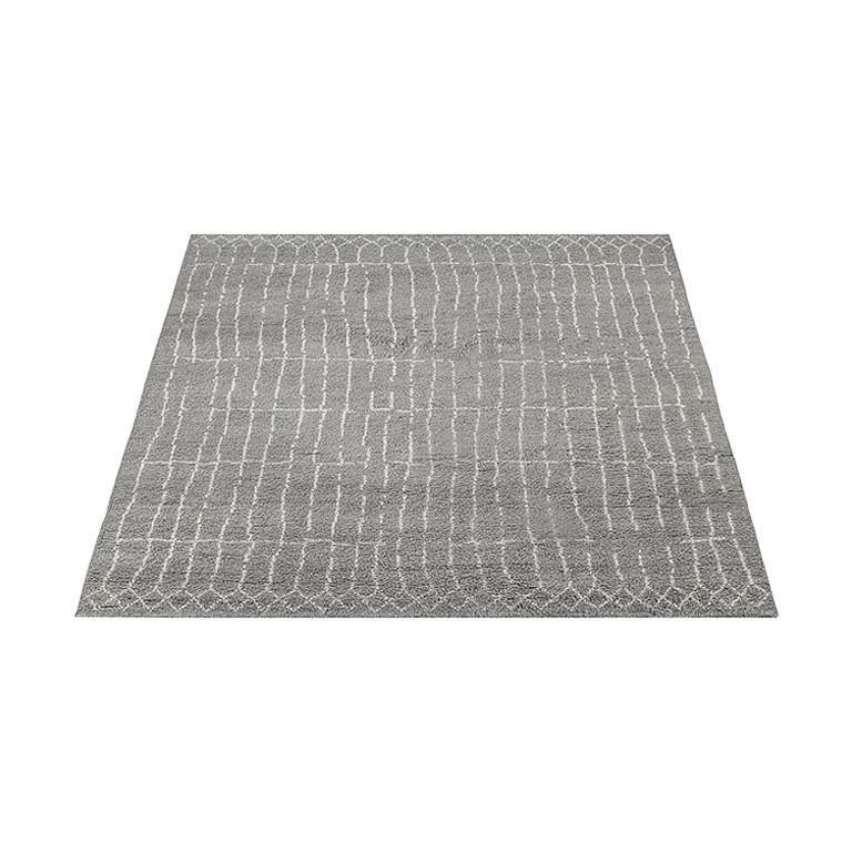For Sale: Gray (Plaga Grey/Sand) Ben Soleimani Plaga Rug 9'x12'