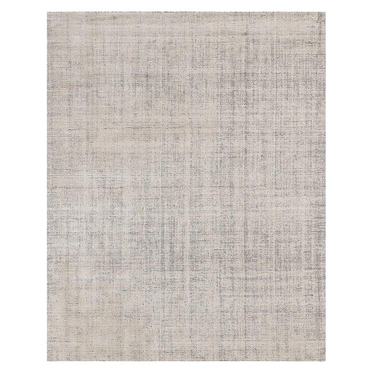 For Sale: Beige (Distressed Wool Sand) Ben Soleimani Distressed Wool Rug 8'x10'