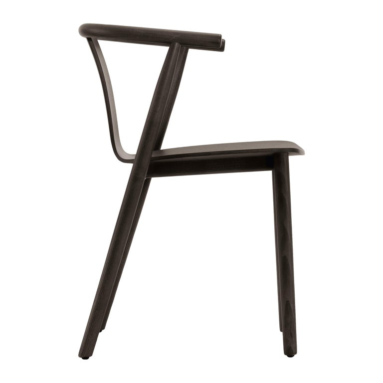 For Sale: Brown (115_Wenge Stained Ash) Jasper Morrison Bac Stool in Solid Ashwood for Cappellini