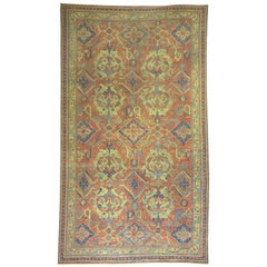 Oversize Antique Oushak Rug
