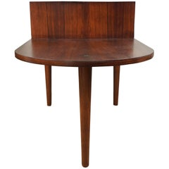 Rosewood Table with Planter Insert