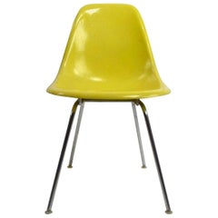 Eames DSX for Herman Miller Shell Chair in Yellow