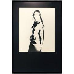 Framed Midcentury Artsy Boudoir Photo