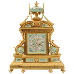 Large and Magnificent Ormolu and Sèvres Porcelain Clock by Achille Brocot