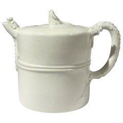 Chinese Blanc-de-Chine Winepot, 17th-18th Century