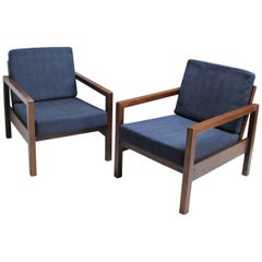Pair of Lounge Chairs in the Manner of Dieckmann