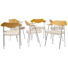 Set of Six '675' Chairs by Robin Day