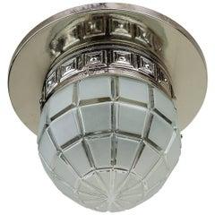 Art Deco Ceiling Lamp, circa 1920s