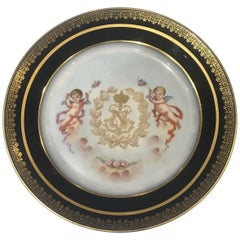 Stunning 19th Century Sevres Plate