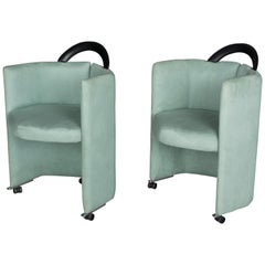 Pair of Memphis Style Chairs