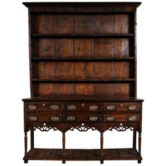 Antique Welsh Cupboard, circa 1750