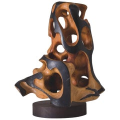Mario Dal Fabbro Wood Sculpture, United States, 1986