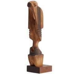 Mario Dal Fabbro, Wood Sculpture, United States, C. 1983
