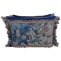 Pair of 17th Century Tapestry Pillows by Melissa Levinson