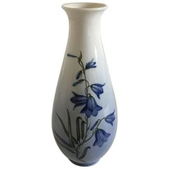 Royal Copenhagen Art Nouveau Vase with Flowers #2918/4055