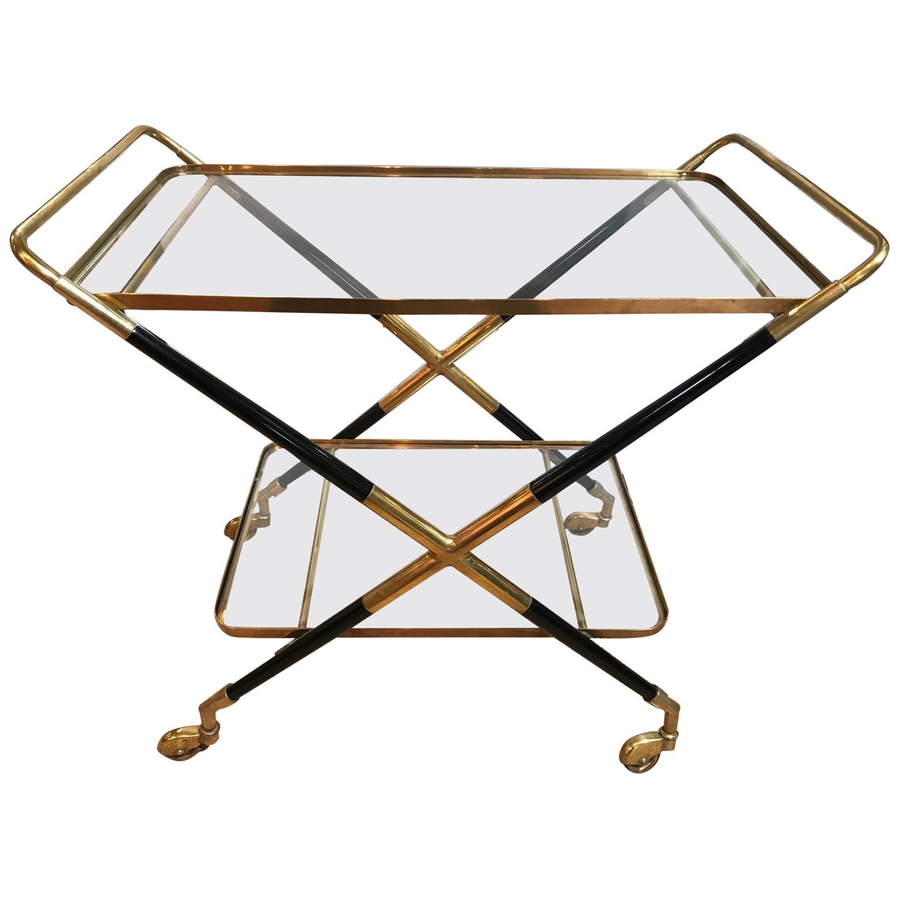 Vintage Art Deco Bar Cart