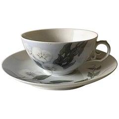 Royal Copenhagen Art Nouveau Tea Cup and Saucer No. 161/9067