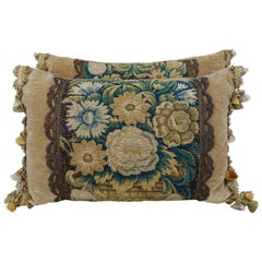 17th Century Flemish Tapestry Pillows by Melissa Levinson