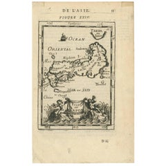 Antique Map of Japan by A.M. Mallet, 1683