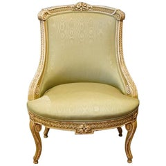 French Decorated Salon Chair