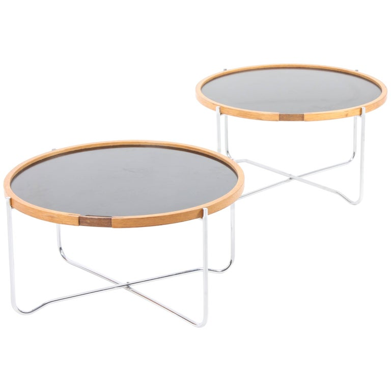 Pair of Tray Tables by Wegner