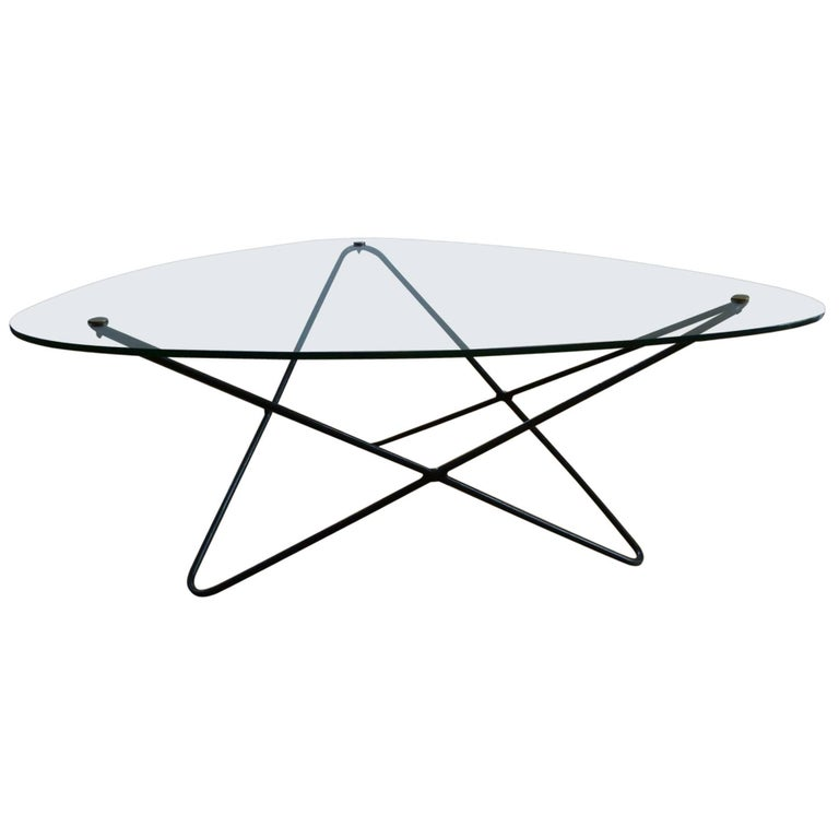 Free Shape Coffee Table by F. Lasbleiz for Airborne, 1954