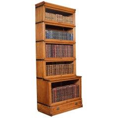 Oak Globe Wernicke Five Section Bookcase