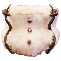 Amethyst and Pure Lamb Chest of Drawers