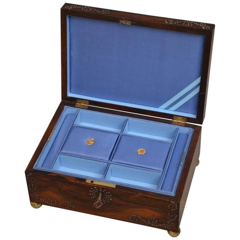 Regency Jewelry Box