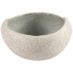 Contemporary Ceramic Pinched Bowl No. 114 by Yumiko Kuga