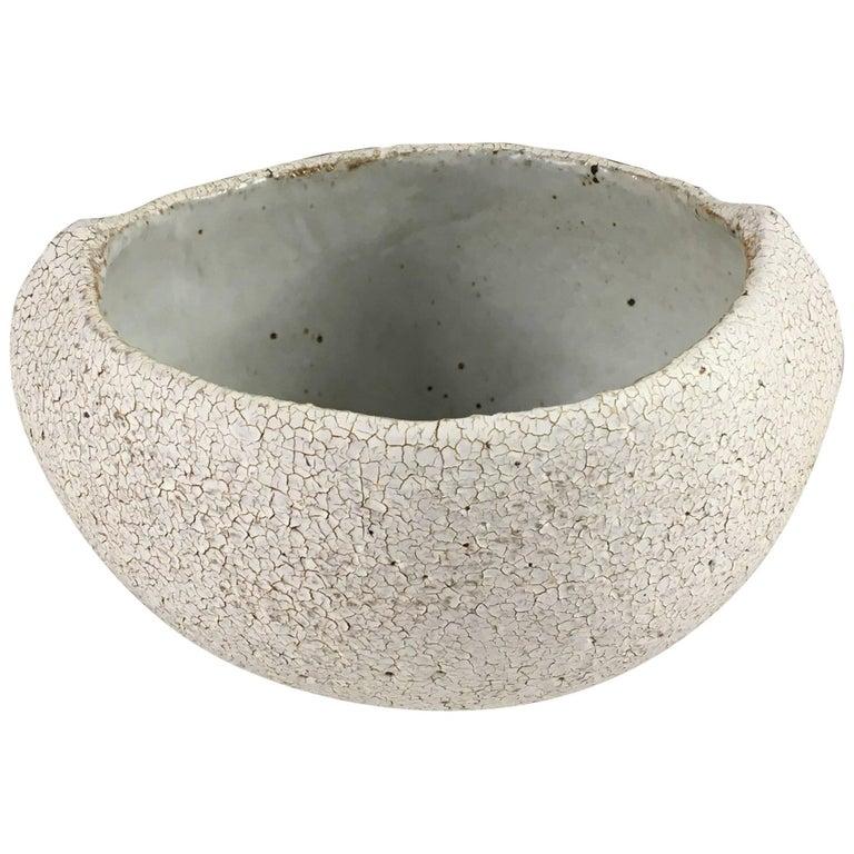 Contemporary Ceramic Pinched Bowl No. 114 by Yumiko Kuga