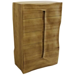 "Dresser ""the groove"" Handmade in Organic Design"
