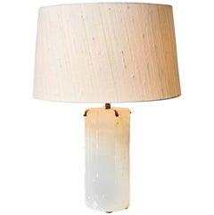 Desk Lamp in White Quartza