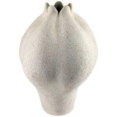 Contemporary Ceramic Blossom Vase No. 149 by Yumiko Kuga