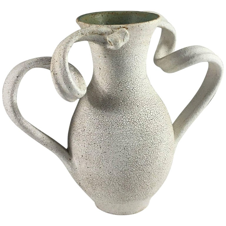 Contemporary Ceramic Amphora Vase No. 150 by Yumiko Kuga