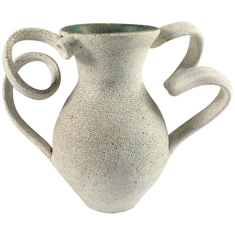 Contemporary Ceramic Amphora Vase No. 152 by Yumiko Kuga