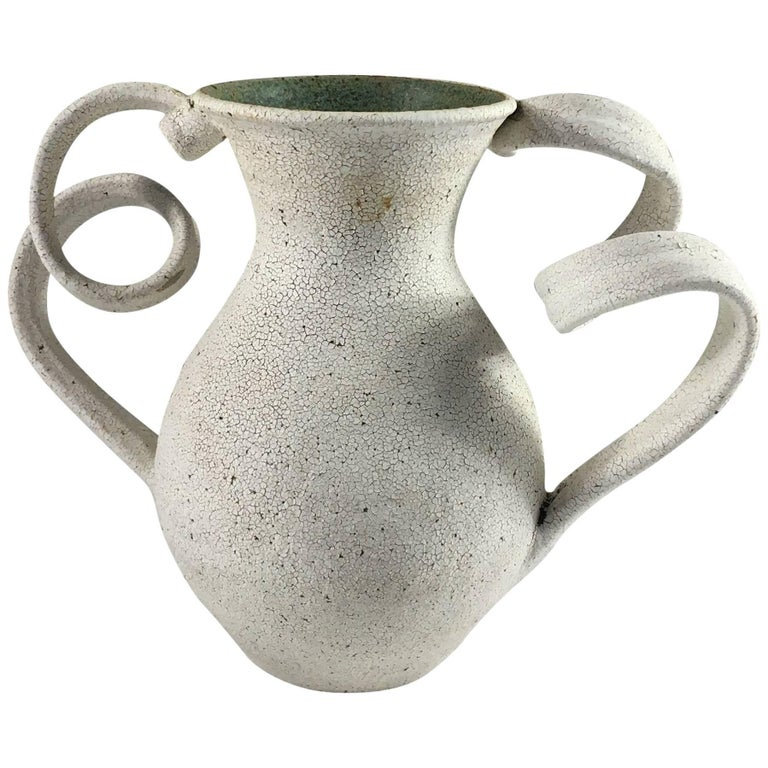 Contemporary Ceramic Amphora Vase No. 153 by Yumiko Kuga