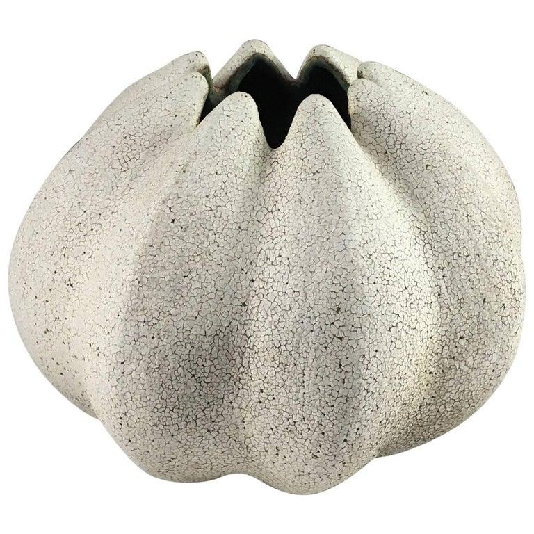 Contemporary Ceramic Blossom Vase No. 154 by Yumiko Kuga