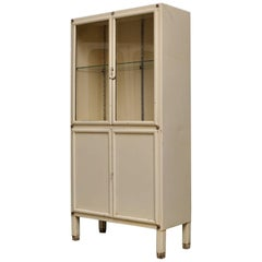 Vintage Iron Medical Cabinet from Kovona, 1950s