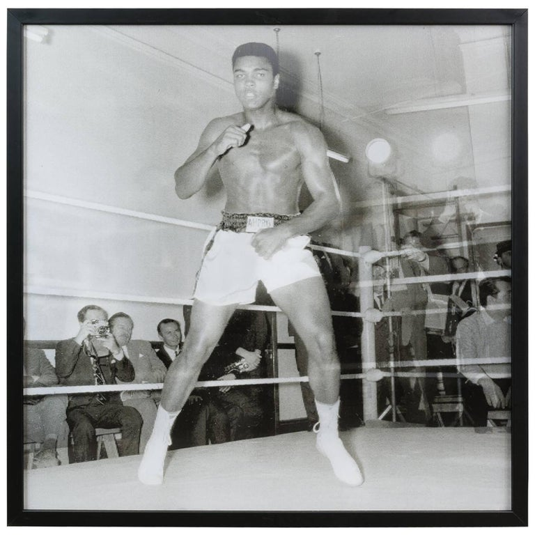 Mohammed Ali Black and White Lenticular by Matthew Andrews