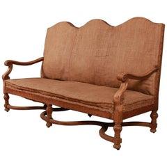 French Oak Sofa