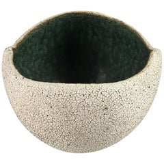 Contemporary Ceramic Round Bowl No. 170a by Yumiko Kuga