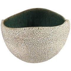 Contemporary Ceramic Round Bowl No. 170b by Yumiko Kuga