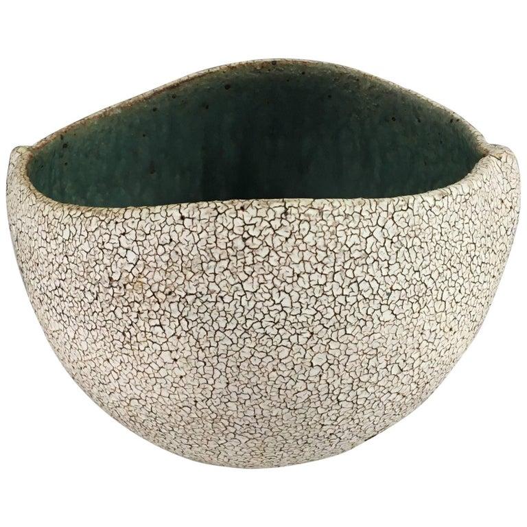 Contemporary Ceramic Round Bowl No. 170b by Yumiko Kuga