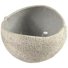 Contemporary Ceramic Round Bowl No. 171 by Yumiko Kuga
