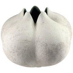 Contemporary Ceramic Blossom Vase No. 178 by Yumiko Kuga